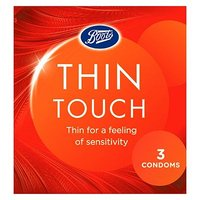 Boots Thin Touch Condoms 3 pack