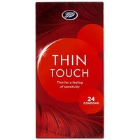 Boots Thin Touch Condoms 24 pack