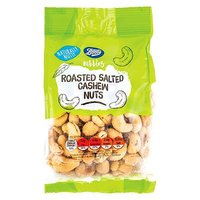 Boots Nibbles Roasted Salted Cashews 250g