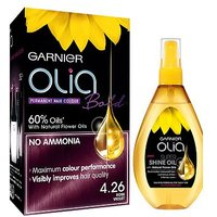 Garnier Olia Bold Rose Violet 4.26: Colour Kit