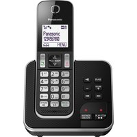 PANASONIC KX-TGD320EB Cordless Phone with Answering Machine