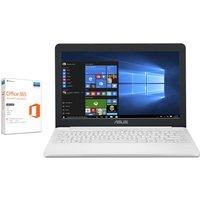 """ASUS VivoBook E203 11.6"""" Laptop - White, White"""