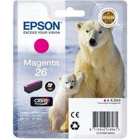EPSON  Polar Bear T2613 Magenta Ink Cartridge, Magenta