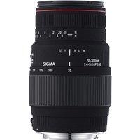 SIGMA 70-300 mm f/4-5.6 DG APO Telephoto Zoom Lens with Macro - for Canon