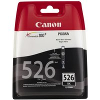CANON CLI-526 Black Ink Cartridge, Black