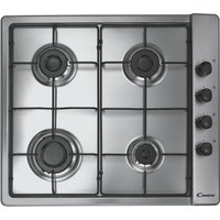 CANDY  CLG64SPX Gas Hob - Stainless Steel, Stainless Steel