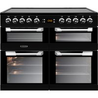 LEISURE Cuisinemaster CS100C510K 100 cm Electric Range Cooker - Black & Stainless Steel, Stainless Steel