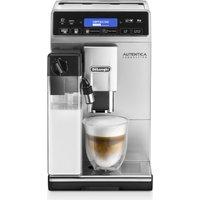DELONGHI Autentica Cappuccino ETAM29.660.SB Bean To Cup Coffee Machine - Silver, Silver