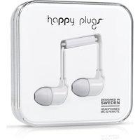 HAPPY PLUGS Headphones - White, White