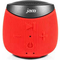 JAM  Double Down HX-P370RD-EU Portable Wireless Speaker - Red, Red