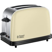 RUSSELL HOBBS Colours Plus 23334 2-Slice Toaster - Cream, Cream