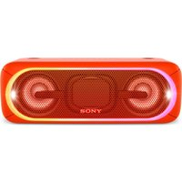 SONY EXTRA BASS SRS-XB40 Portable Bluetooth Wireless Speaker - Red, Red