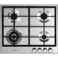 KENWOOD KHG603SS Gas Hob - Stainless Steel, Stainless Steel