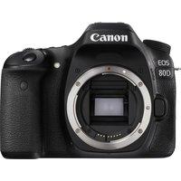 CANON EOS 80D DSLR Camera - Black, Body Only, Black