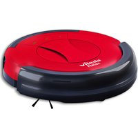 VILEDA 145096 Relax Robot Vacuum Cleaner - Red & Black, Red