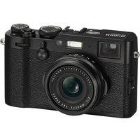 FUJIFILM X100F High Performance Compact Camera - Black, Black