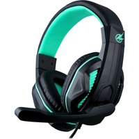 PORT DESIGNS Arokh H-1 Gaming Headset - Black & Green, Black