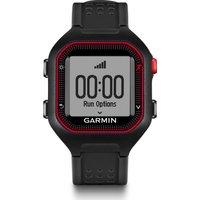 GARMIN Forerunner 25 GPS Running Watch - Black & Red, Black