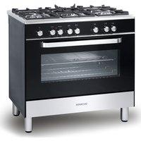 KENWOOD  CK305-1 Dual Fuel Range Cooker - Black, Black