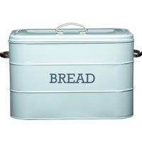 KITCHEN CRAFT Living Nostalgia Vintage Bread Bin - Blue, Blue