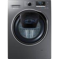 SAMSUNG AddWash WW80K6414QX Washing Machine - Graphite, Graphite