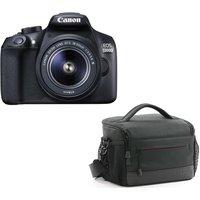 CANON EOS 1300D DSLR Camera, 18-55 mm f/3.5-5.6 Lens & Bag Bundle