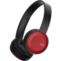 JVC HA-S30BT-R-E Wireless Bluetooth Headphones - Red, Red