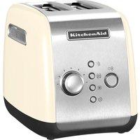 KITCHENAID 5KMT2116BAC 2-Slice Toaster - Cream, Cream
