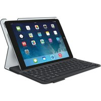 LOGITECH Type iPad Air 2 Folio Keyboard Case - Black, Black