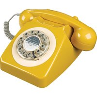 WILD & WOLF  746 Corded Phone - English Mustard