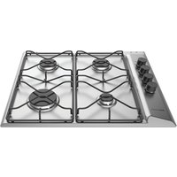 HOTPOINT PAN642IXH Gas Hob - Stainless Steel, Stainless Steel