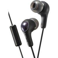 JVC Gumy Plus Headphones - Black, Black