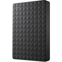 SEAGATE Expansion Portable Hard Drive - 4 TB, Black, Black