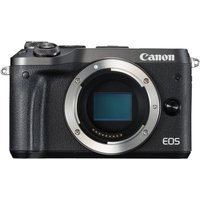 CANON EOS M6 Mirrorless Camera - Black, Body Only, Black