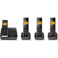 BT Xenon 1500 Cordless Phone with Answering Machine Quad Handsets