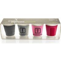 LES ARTISTES Honeycomb Espresso Cups - Set of 4