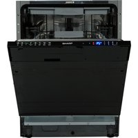 SHARP QW-GD53I443X Full-size Integrated Dishwasher