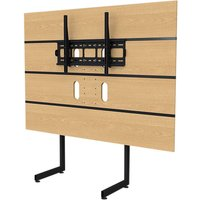 TECHLINK M-Series M3LO TV Stand with Bracket, Oak