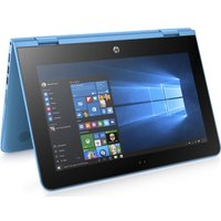HP Stream 11-aa053sa 11.6 2 in 1 - Aqua Blue, Aqua