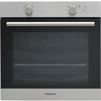 HOTPOINT GA2124IX Gas Oven - Stainless Steel, Stainless Steel
