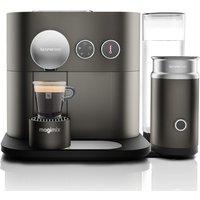 NESPRESSO by Magimix Expert M500 Smart Coffee Machine with Aeroccino - Arithrocite Grey, Grey