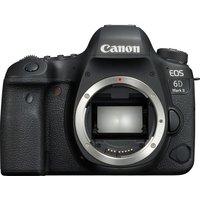 CANON EOS 6D Mark II DSLR Camera - Black, Body Only, Black