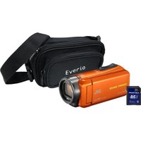 JVC GZ-R435 Camcorder Kit - Orange, Orange