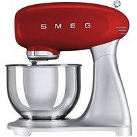 SMEG SMF01RDUK 50s Retro Stand Mixer - Red, Red
