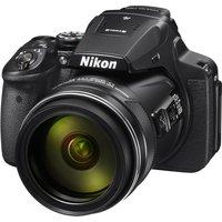 NIKON COOLPIX P900 Bridge Camera - Black, Black