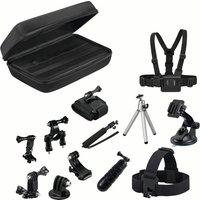 GOJI GAGOPRO15 GoPro Accessory Kit - Black, Black