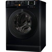 INDESIT Innex XWDE751480XS Washer Dryer - Black, Black