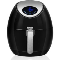 TOWER T17008 Digital Air Fryer - Black, Black