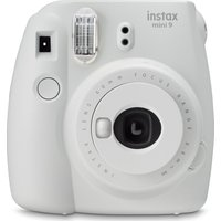 INSTAX mini 9 Instant Camera - Smoky White, White