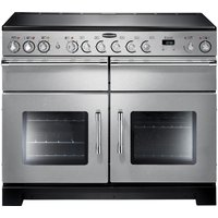 RANGEMASTER Excel 110 Electric Ceramic Range Cooker - Stainless Steel, Stainless Steel